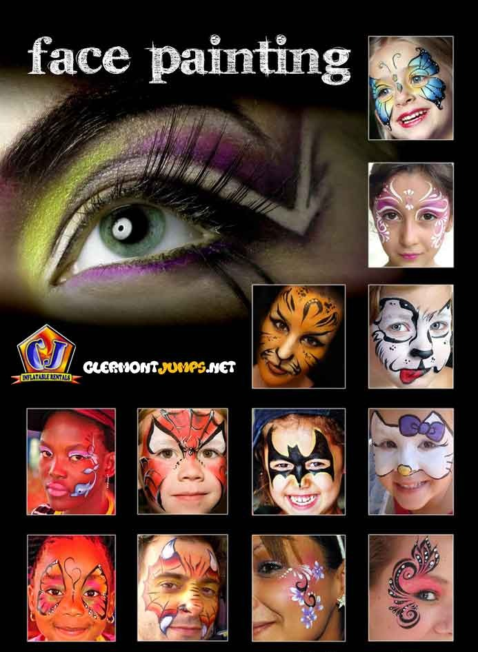 Face Painting, Face Painting for Kids, Orlando Face Painting