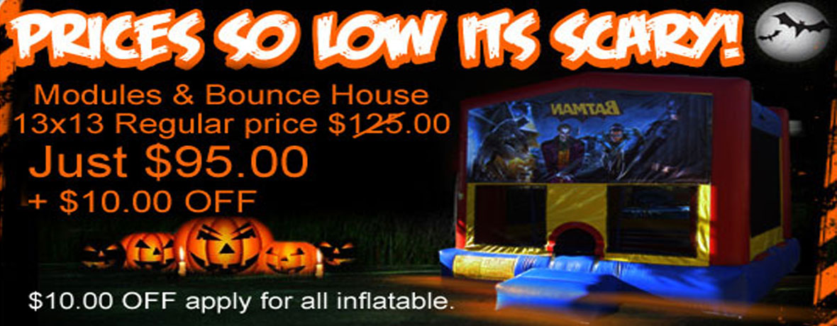 Scary Prices - for November Specials